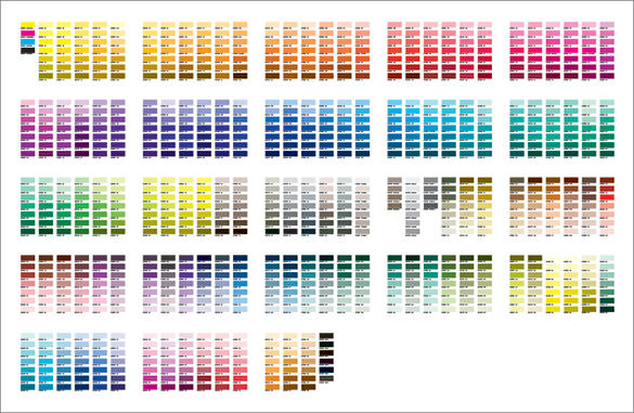 Pms Color Chart Color Chart Best Colours Images On